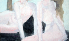 Baigneuses painting