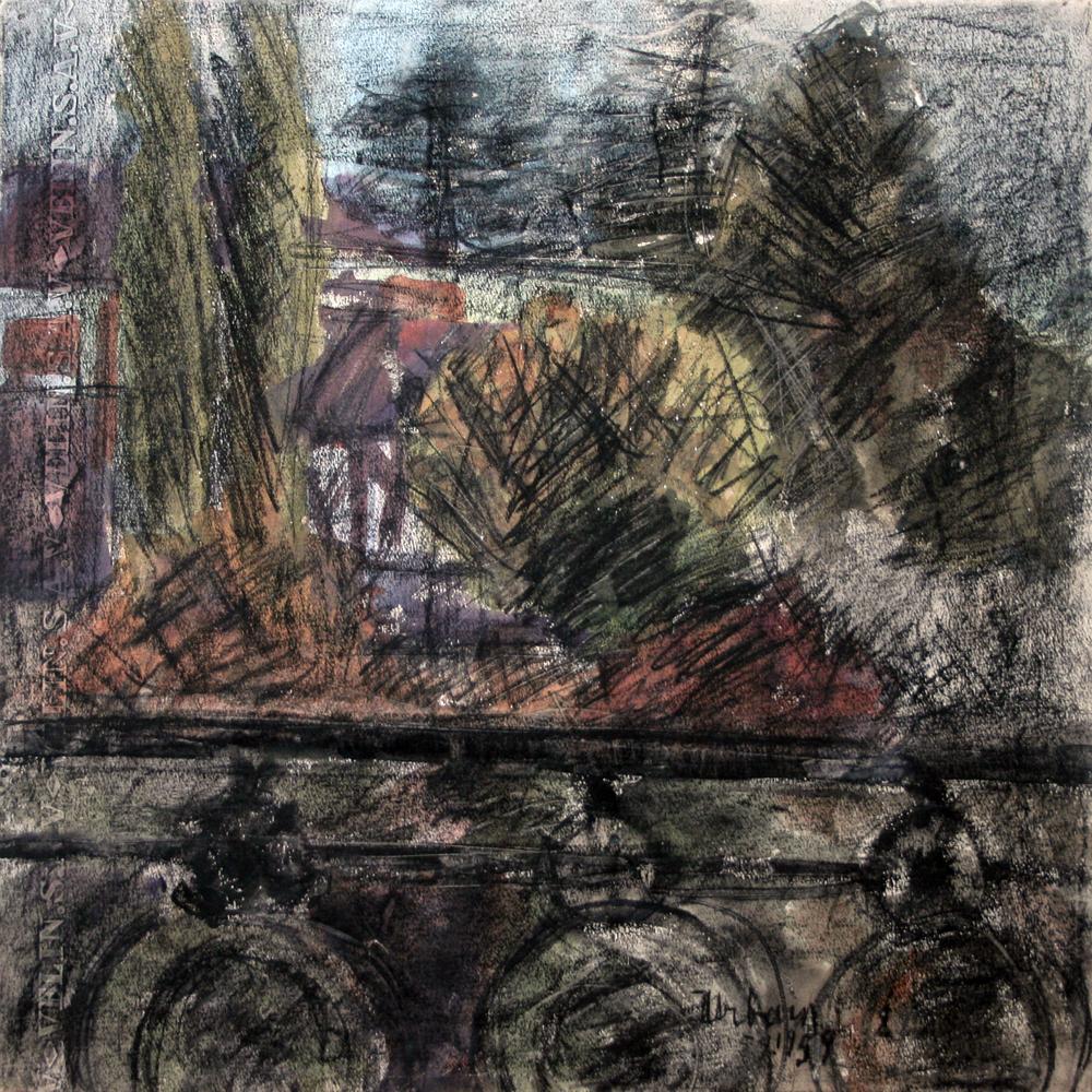 Balcon painting
