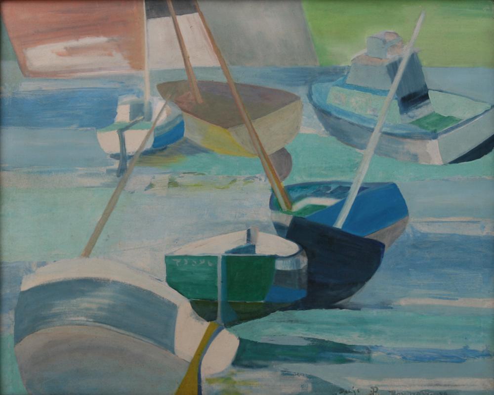 Bateaux Quiberon painting