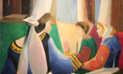 Bigouden Quiberon painting