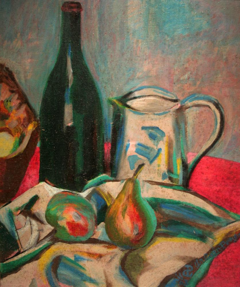 Bouteille Noire painting