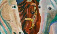 Caballos de Troya painting