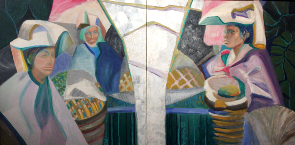 Chiapa de Corso painting