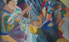 Chichi B painting