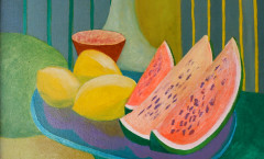 Citrons Pasteque painting
