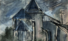 Eglise Fecamp painting