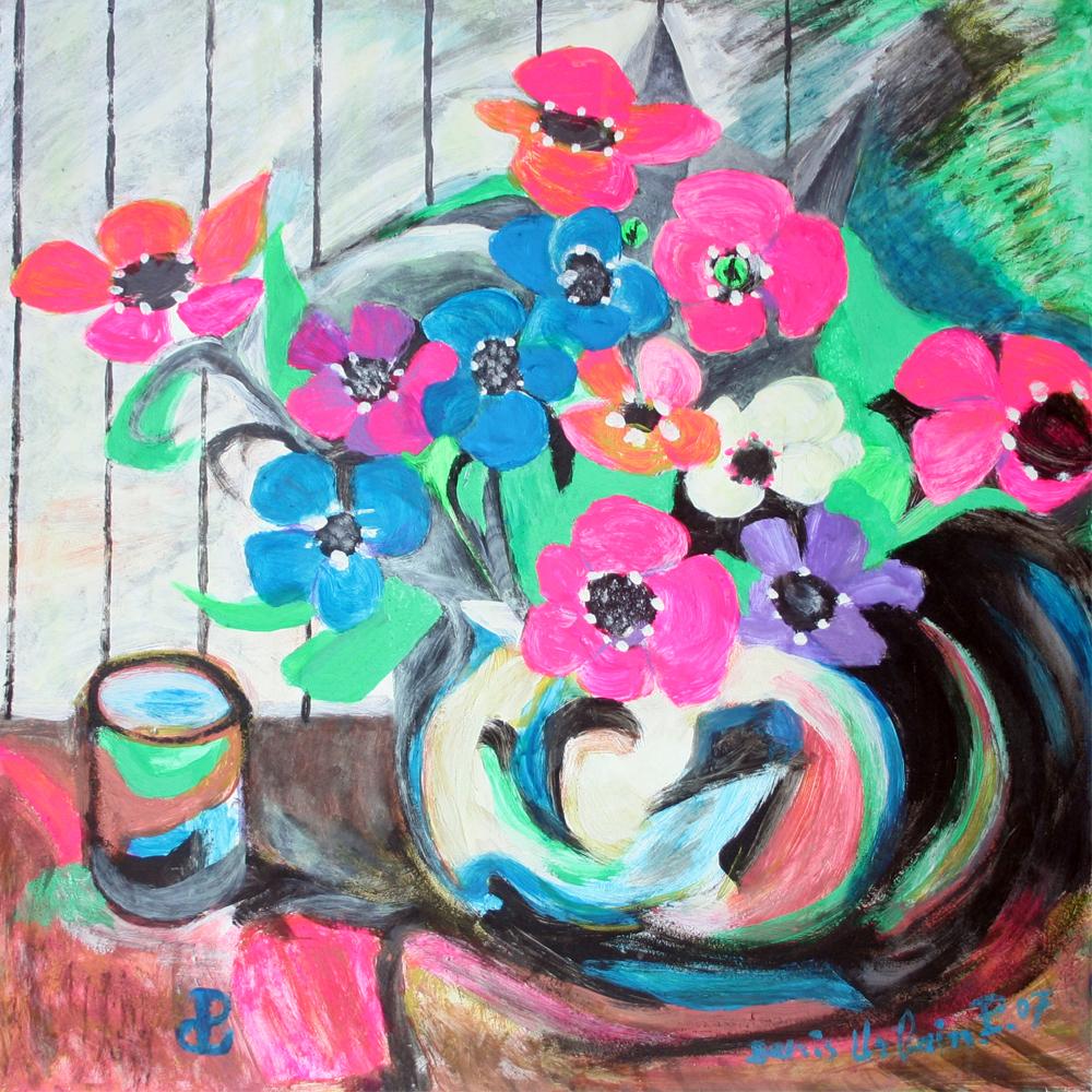 Fleurs au Chat 2