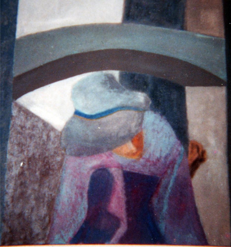 Jacinta painting
