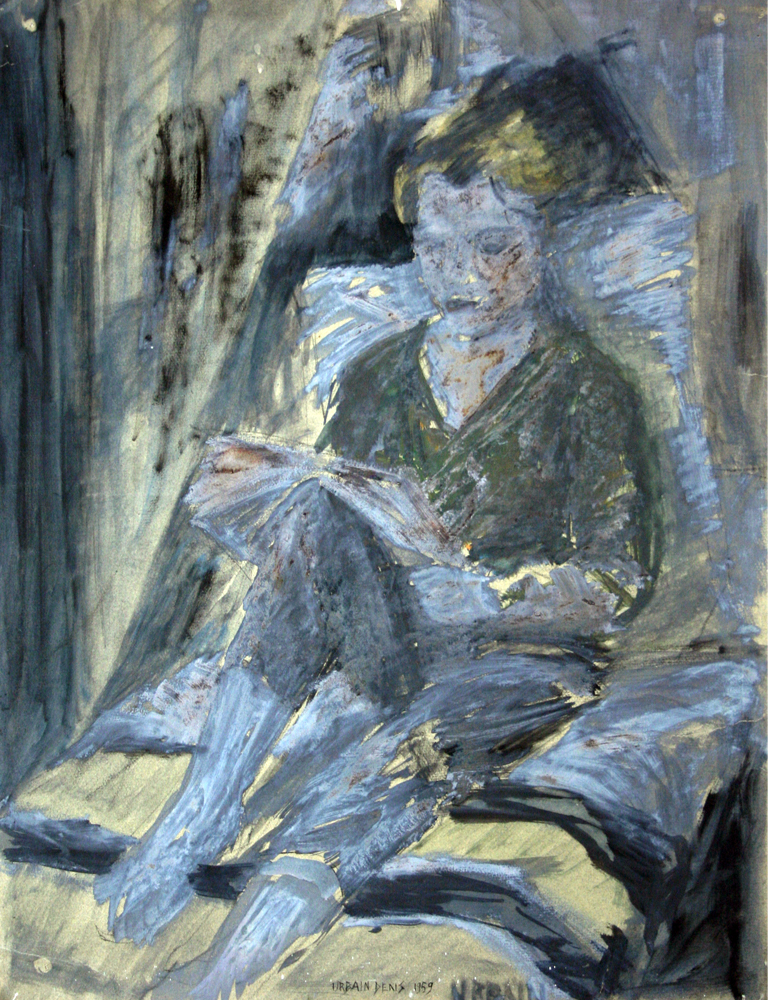 Liseuse painting