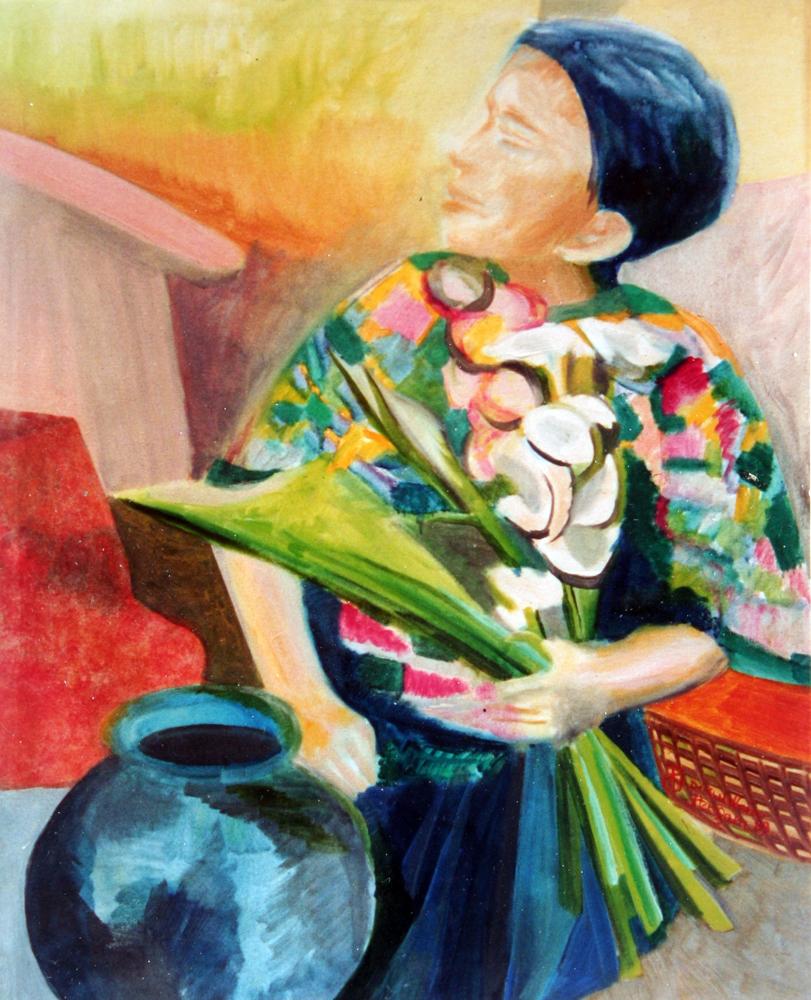 Liza painting
