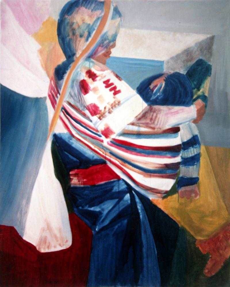 Mamaya painting