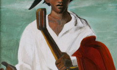 Musicien painting