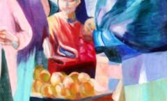 Naranjas Cristobal painting