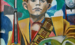 Nino Soldado painting