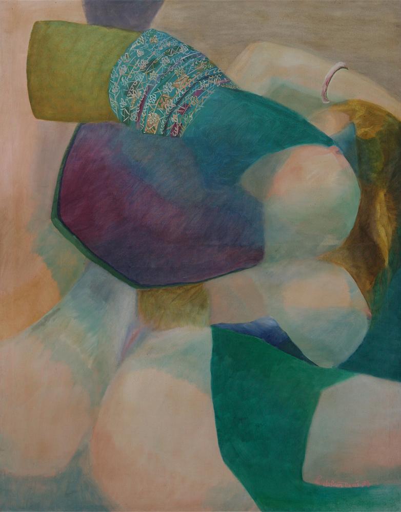 Pamela painting