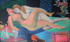 Paresseuses painting